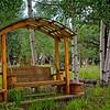 A cute little bench near Panguitch Lake, Utah