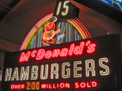 Retro McDonald's at the Henry Ford Museum - Dearborn, Michigan