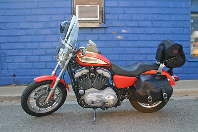 My Harley Sportster 1200XL - Richmond, Michigan