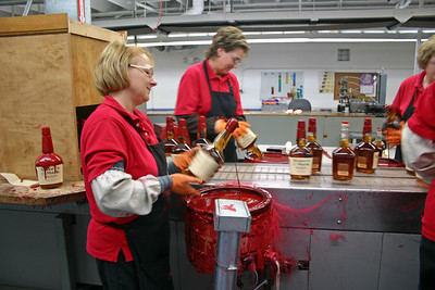 Maker's Mark Distillery production line
