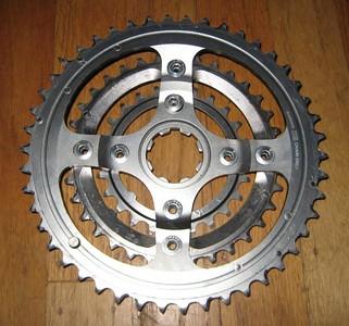 950 type XTR chainring set
