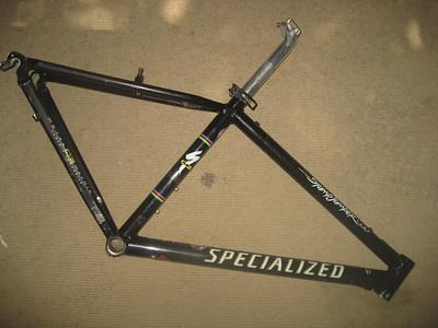 Black M2 stumpjumper frame