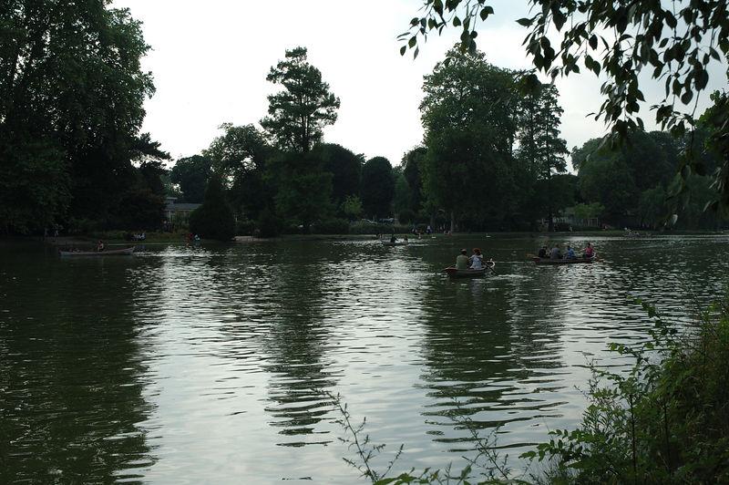 Vue du lac du bois de vincennes.
