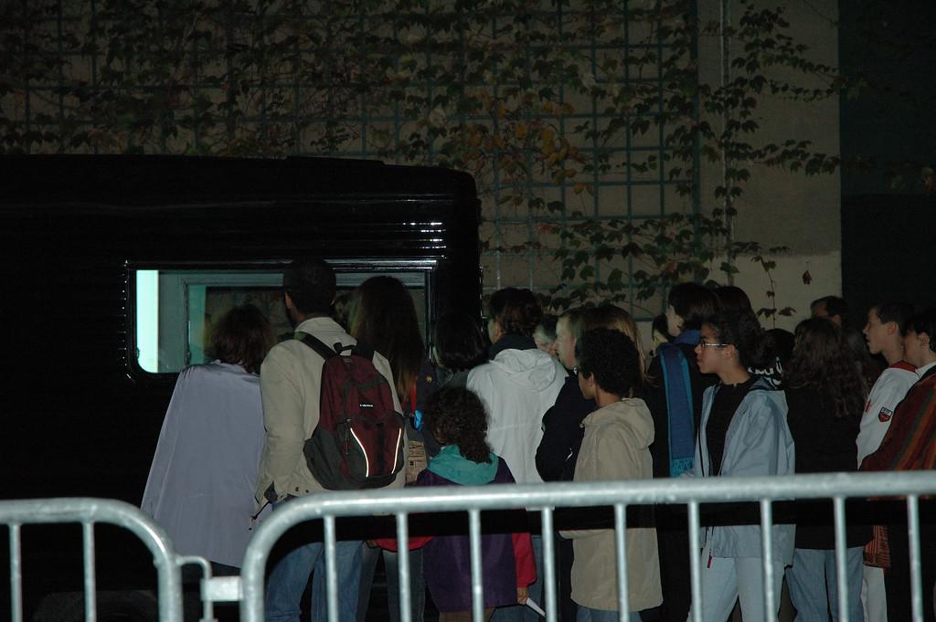 Installation qui se dit artistique visible depuis la coulŽe verte. <br /> <br /> Nuit blanche 2005