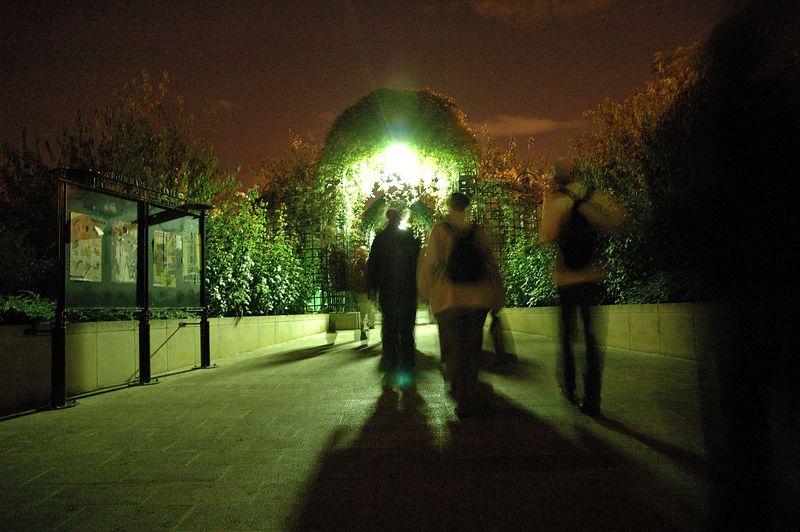 entrŽe sur la coulŽe verte<br /> <br /> nuit blanche 2005
