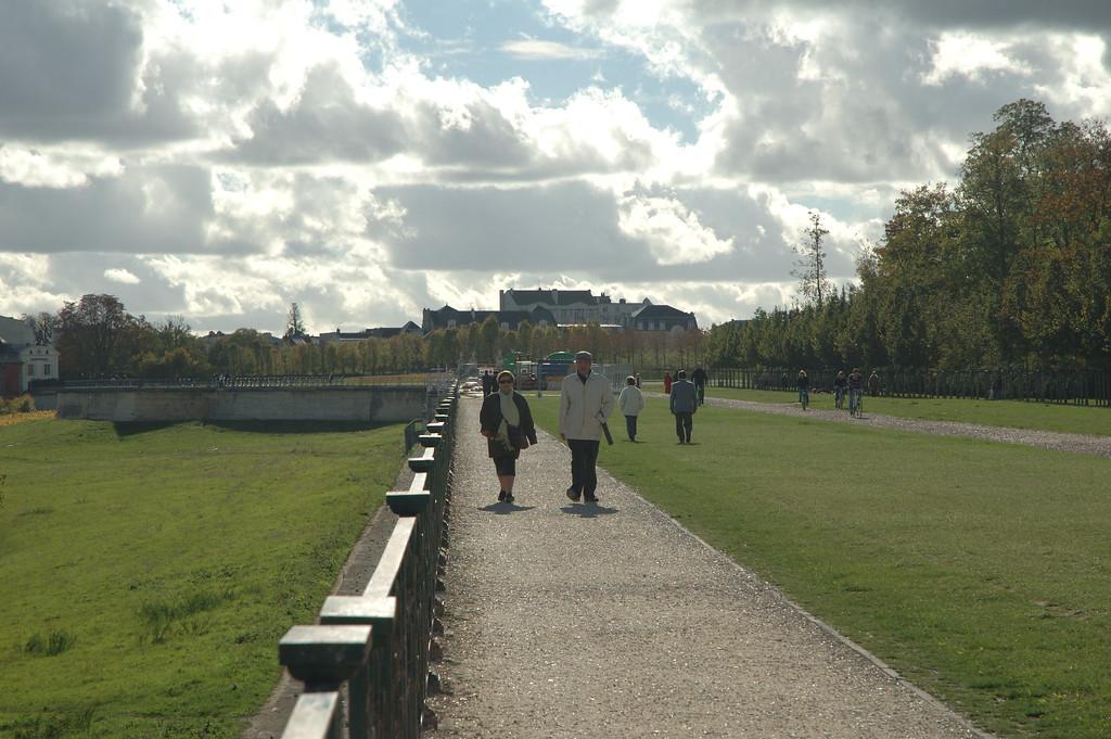 Parc du chateau de Saint Germain