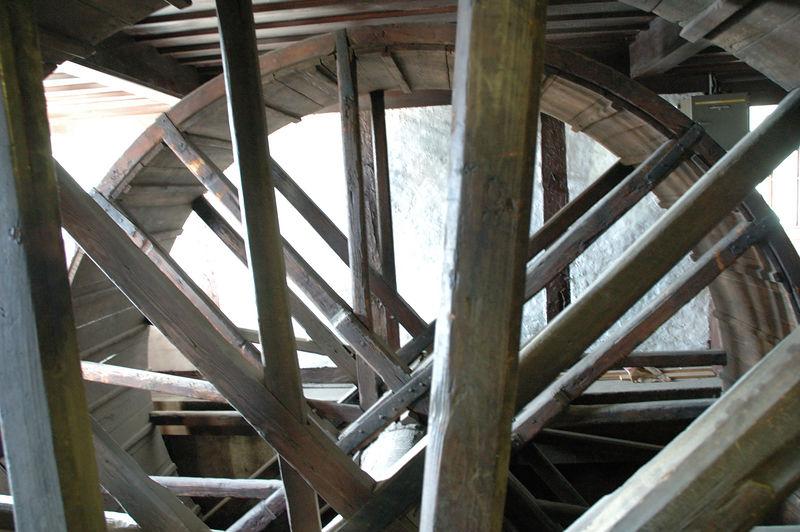 Une roue dans la cathŽdrale de Strasbourg