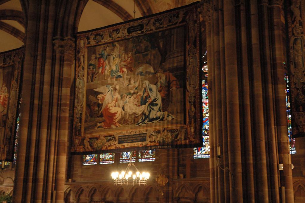 IntŽrieur de la cathŽdrale de Strasbourg