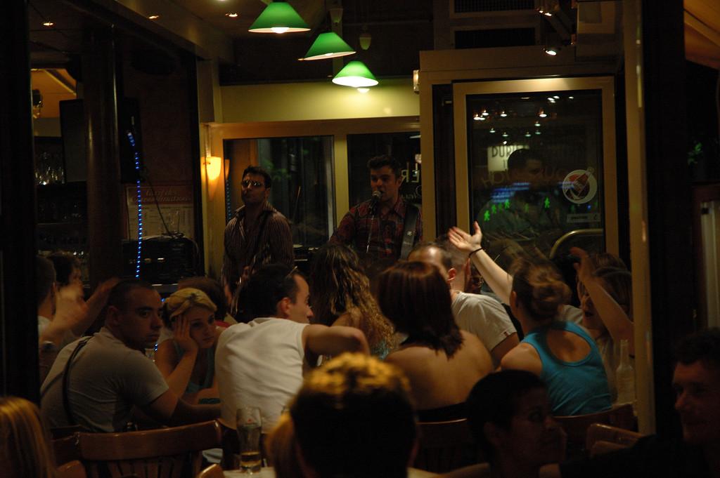 Musicien dans un cafŽ (Odeon)