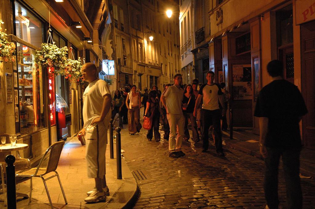 Quartier de St Michel