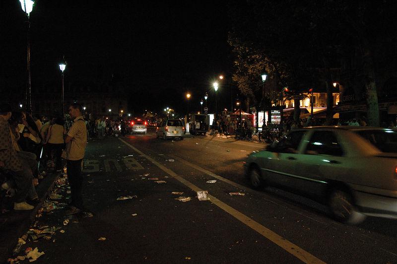 Intersection St Michel St Germain