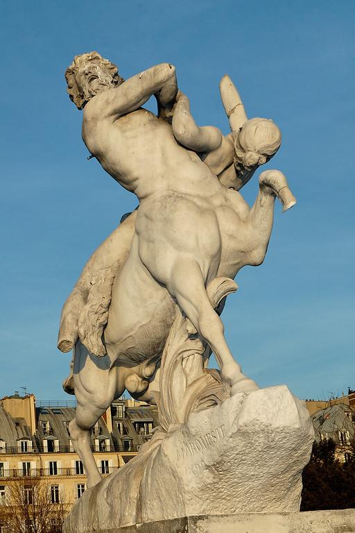 Le centaure Nessus enlevant Dejanire