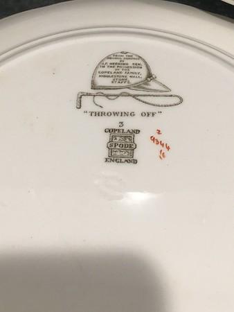 J.F. Herring Sen - Handpainted Plates