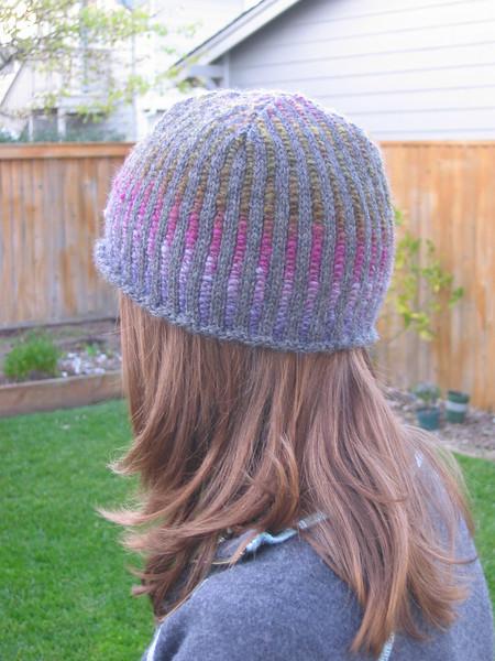 Mandy's hat pattern....love the pattern, love the yarn