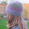 Mandy's hat pattern....love the pattern, love the yarn