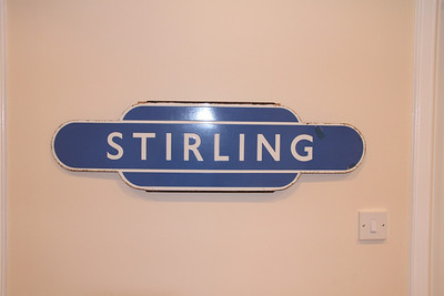 Original Stirling station totem at little brother's house...
