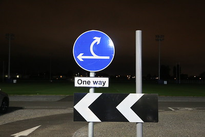 One Way? But there is a choice......