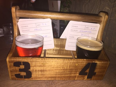 Flight #2 at The Beer Kitchen