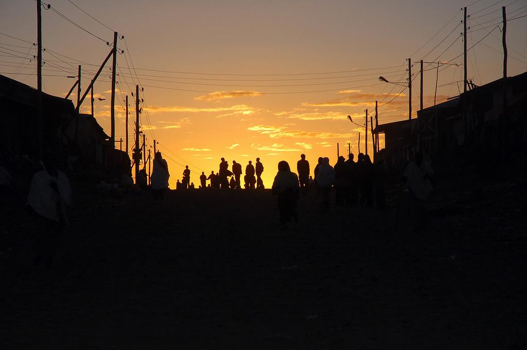 Sunset, Gonder