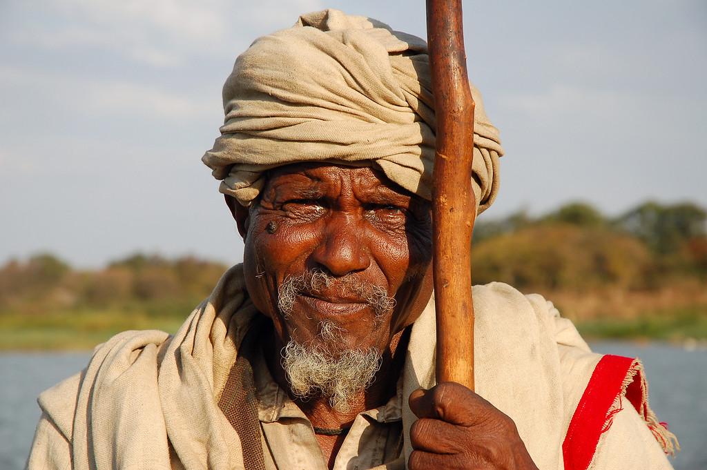 Farmer, Lake Tana, Bahir Dar.