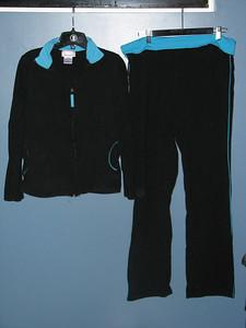 Teal / black set size L  $20
