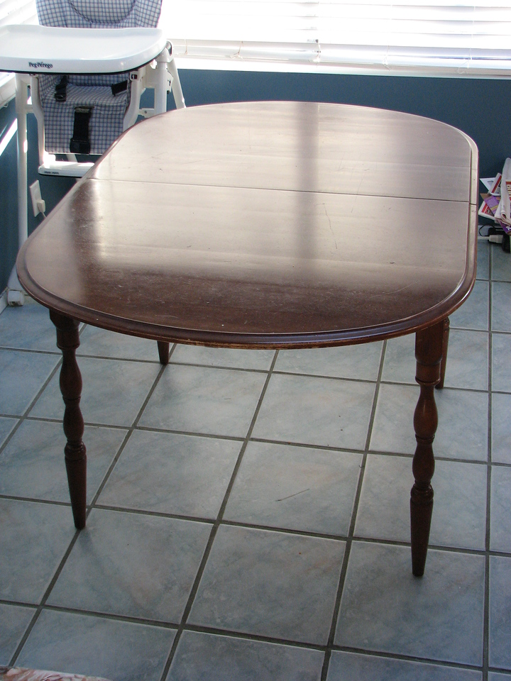 asking $300: 4 chairs, table w/ insert, excellent condition. (see photos 5, 6, & 7 w/ chairs)