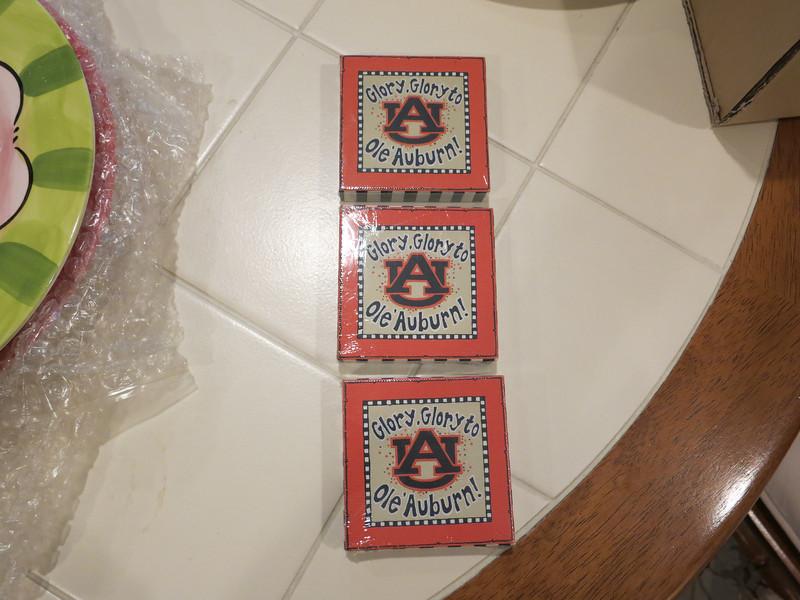 3 Auburn magnets for Julie to gift