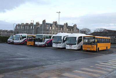 King Street coach lineup