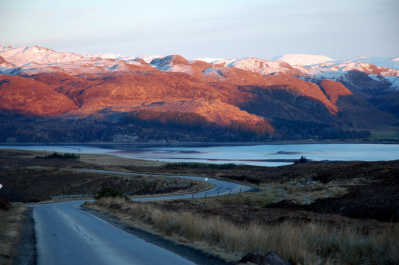 The Long and winding road (Loch Carron)