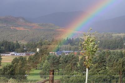 Rainbow - somewhere near Kingussie