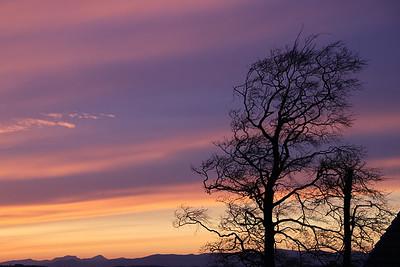 Ratho sunset 23 April 2020