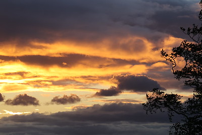 Ratho sunset 19th July 2020