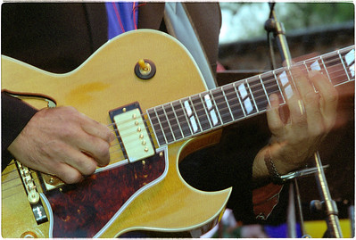 Thom's Hands: guitarist Thom Rotella. (Original shot on transparency film with Nikon F5)