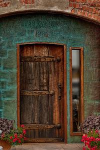Clam Cannery Door