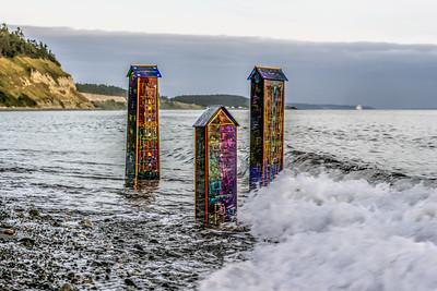 Three Surf Houses