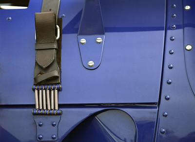 Blue Hood. (Original shot on color negative film with Pentax 645)