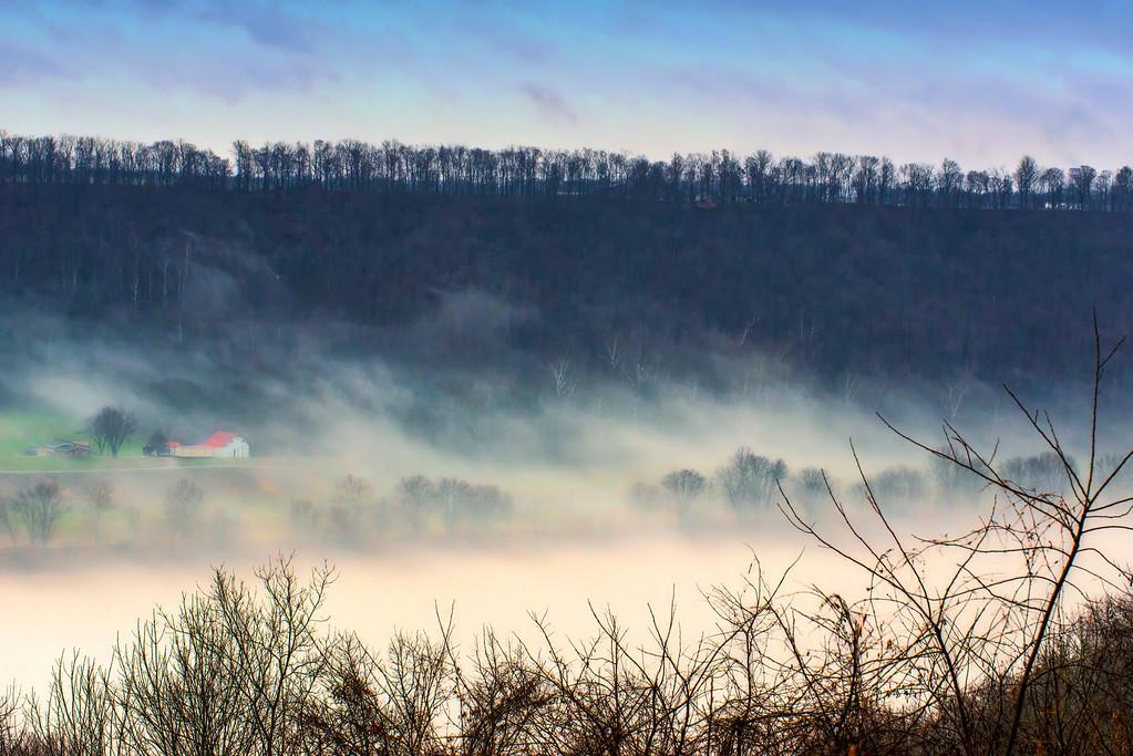 Foggy Ridge - Ohio River, Hanover, IN