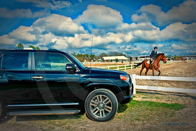 4 Runner goes to the Gulfport Magnolia Classic Horse Show featuring Hunters and Jumpers.  Champion horses from all over the country compete.  Some of the best in their class show here every year.  The very best in it's class is the 4 Runner by Toyota.  Who could ask for anything more?   When you think Toyota, think Allen Toyota.