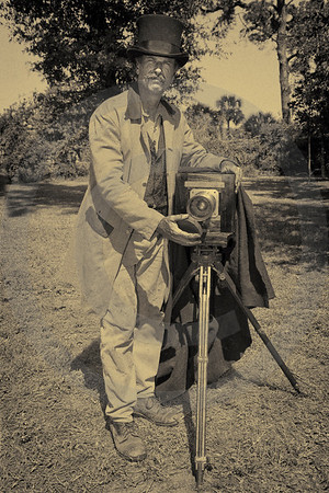 Tin-type Photographer