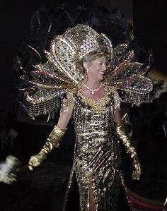 Queen Rhonda from years past.