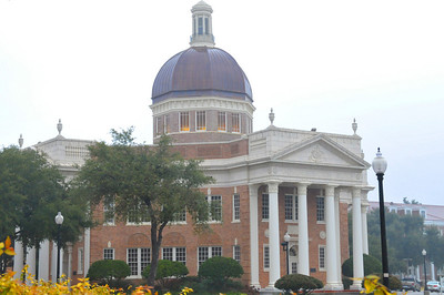 University of Southern Mississippi's Administration Building. Beautiful colors even in January.