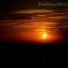 Deep Orange Caribbean Sunset