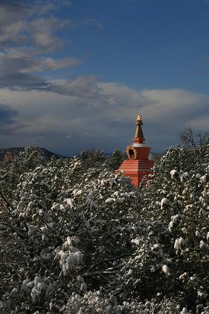 Amitabha Stupa in Sedona, AZ