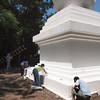 Painting the Enlightenment Stupa, by Ted Kurkowski<br /> © KPC