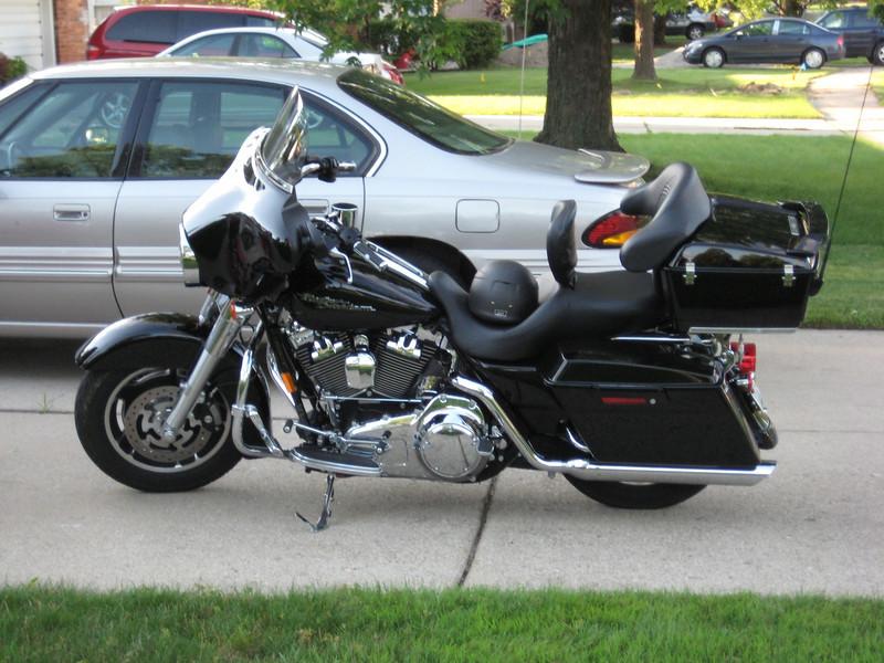 "Josh's comfort ride- 2008 Streetglide- ""Tee Bone""."