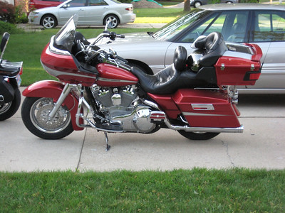 "Howard's comfort ride- 2005 Roadglide- ""Slwryd""."