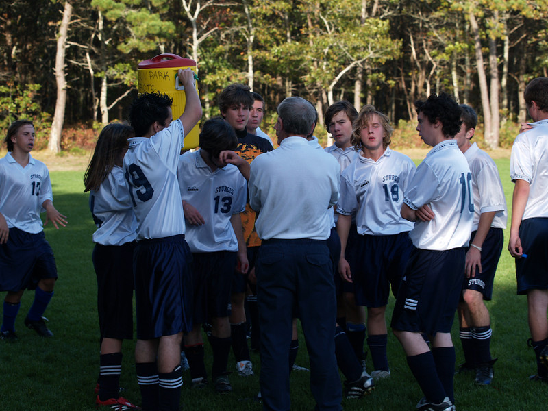 Oct 23 Sturgis VS. South Shore Christian Academy<br /> Refreshment... Not at the beginning of the game.