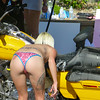 Bikini wash girl