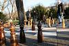 Schachspiel im Schloßgarten