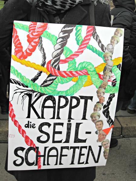 K21-Demo in Stuttgart (23.02.2013)